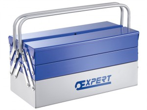 Metal Cantilever Toolbox 5 Tray 45cm