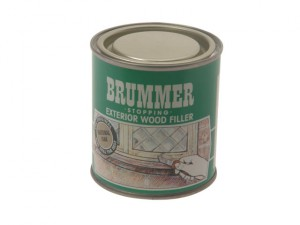 Green Label Stopping Exterior Wood Filler 700g Medium Oak