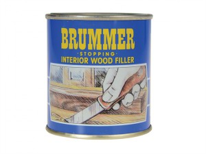 Yellow Label Stopping Interior Wood Filler 700g Ebony