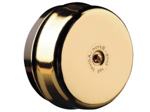 1200 Wired Underdome Doorbell Brass