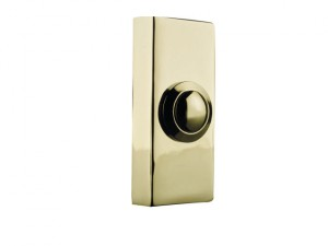 2204 Wired Doorbell Additional Chime Bell Push Brass