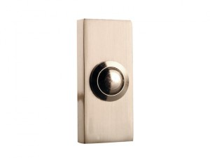 2204BN Wired Doorbell Additional Chime Bell Push Brushed Nickel