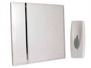 BY401W Wireless Doorbell with Portable Chime 60m