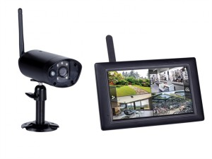 CS96DVR Wireless Digital Camera & 7in Touchscreen