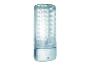 ES81A Plastic Security Light Chrome