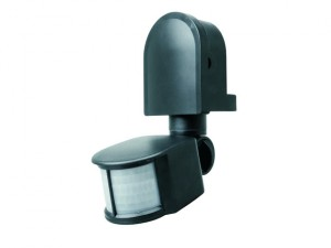 ES90 PIR Area Light Black