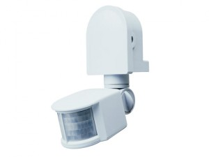 ES90W PIR Area Light White