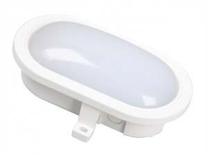 GOL-001-HW LED Oval Bulkhead White 5.5 Watt 550 Lumen