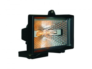 HL400 Halogen Floodlight Black 400 Watt