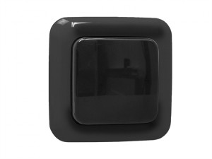 Smarthome Outdoor Remote Control 1G Single Switch Black