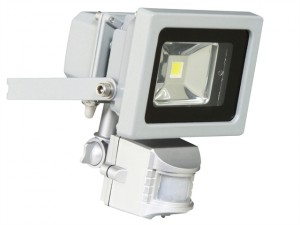XQ1162 COB LED Floodlight with PIR 10 Watt 600 Lumen