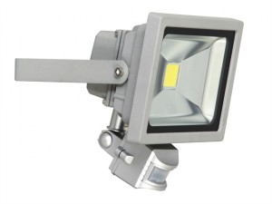 XQ1221 COB LED Floodlight with PIR 20 Watt 1500 Lumen