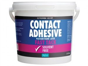 Contact Adhesive Solvent-Free Fast Tack 2.5 Litre