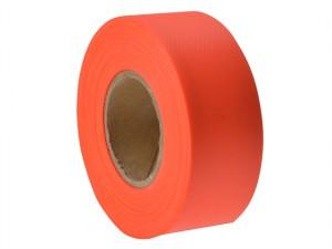 Flagging Tape Fluorescent Orange 46m (150ft)