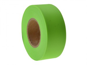 Flagging Tape Fluorescent Lime 46m (150ft)