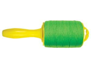 Braided Nylon Line & Reel 152m (500ft) Fluorescent Green