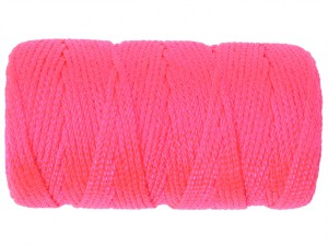 Braided Nylon Line Refill 76m (250ft) Fluorescent Pink
