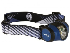 CHT10 Headlamp with Batteries Blue