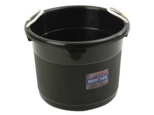 Muck Bucket - Black 39 Litre 165245