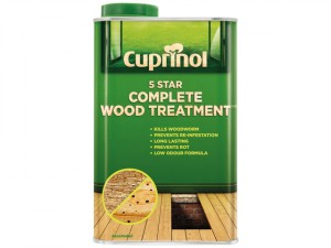 5 Star Complete Wood Treatment 1 Litre