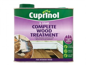 5 Star Complete Wood Treatment 2.5 Litre