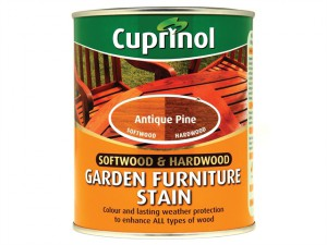 Softwood & Hardwood Garden Furniture Stain Antique Pine 750ml