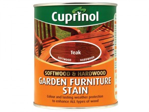 Softwood & Hardwood Garden Furniture Stain Teak 750ml