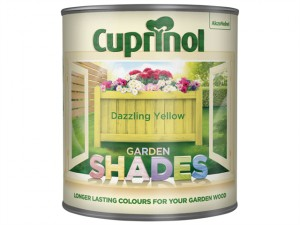 Garden Shades Dazzling Yellow 1 Litre