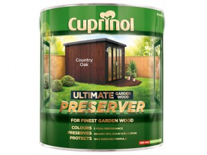 Ultimate Garden Wood Preserver Country Oak 4 litre