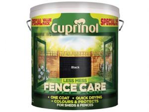 Less Mess Fence Care Black 6 Litre