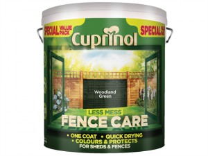 Less Mess Fence Care Woodland Green 6 Litre