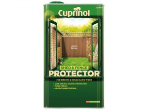 Shed & Fence Protector Acorn Brown 5 Litre