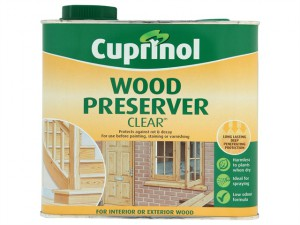 Wood Preserver Clear 2.5 Litre