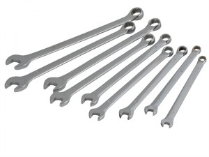 Extra Reach Combination Spanner Set of 9 Metric 6mm to 14mm