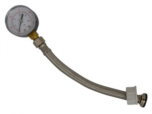 Water Pressure Gauge 0-10 Bar 3/4in BSP