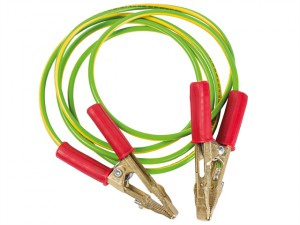Earthing Cable with Crocodile Clips 2.5m