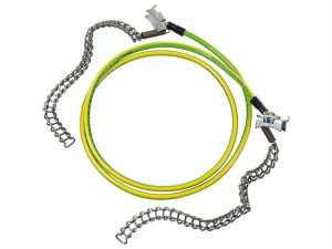 Earthing Cable with Chains 1.2m