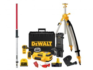 DW079PKH Self Levelling Rotary Laser Level Kit