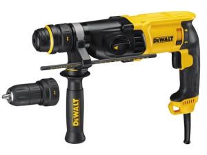 D25134K SDS 3 Mode QCC Hammer Drill 800 Watt 240 Volt