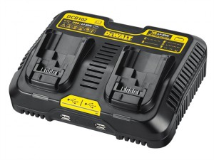 DCB102 XR Jobsite Dual Port & USB Charging Station 10.8-18 Volt Li-Ion