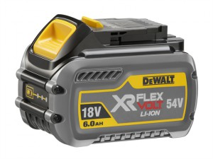 DCB546 FlexVolt XR Slide Battery 18/54 Volt 6.0/2.0Ah Li-Ion