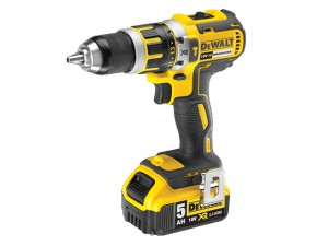 DCD795P2 XR Compact Brushless Hammer Drill Driver 18 Volt 2 x 5.0Ah Li-Ion