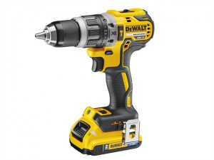 DCD796D2B XR Brushless Hammer Drill 18V 2 x 2.0Ah Bluetooth Li-Ion