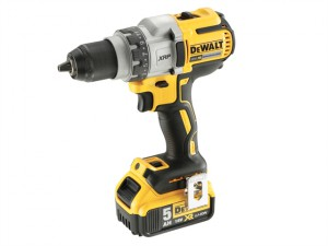 DCD991P2 Brushless 3 Speed Drill Driver 18V 2 x 5.0Ah Li-Ion