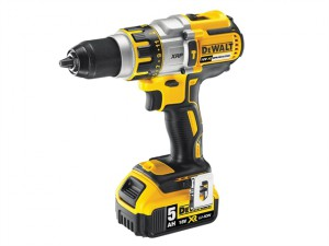 DCD995P2B XR Brushless Hammer Drill 18V 2 x 5.0Ah Bluetooth Li-Ion