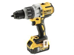 DCD996P2 XR Brushless Combi Drill 18 Volt 2 x 5.0Ah Li-Ion