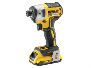 DCF887D2 XR Brushless 3 Speed Impact Driver 18V 2 x 2.0Ah Li-Ion