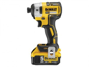 DCF887P2 XR Brushless 3 Speed Impact Driver 18V 2 x 5.0Ah Li-Ion