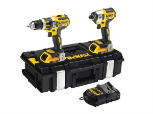 DCK250D2 XR Brushless Twin Pack 18 Volt 2 x 2.0Ah Li-Ion