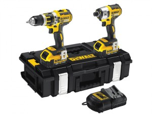 DCK250M2B Brushless Twin Pack 18 Volt 2 x 4.0Ah Li-Ion